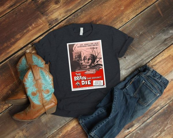 The Brain That Wouldn't Die Retro Movie Poster Art Shirt image 0