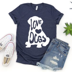Cute Dog Shirt Christmas Gift Shirts Custom Gift Shirts Dog image 0