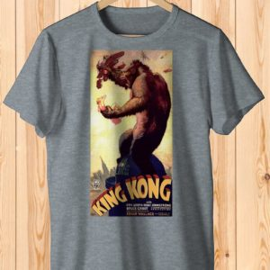 King Kong Retro Movie Poster Art Shirt  Cult Classic Tee image 0
