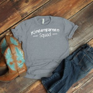 Kindergarten Squad Kinder Teacher Shirt Teacher Team Tribe image 0