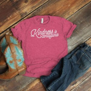 Kindess Is Contagious Always Be Kind Shirt Spread Kindess image 0