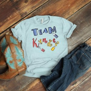 Team Kinder Matching Grade Level Tees Kindergarten Teacher image 0