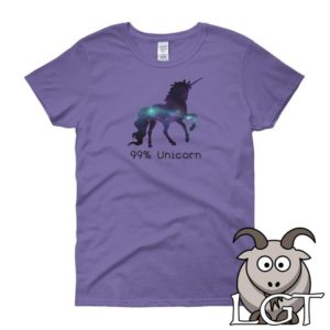 99% Unicorn Shirt Funny Shirts Funny T Shirts Unicorn T image 0