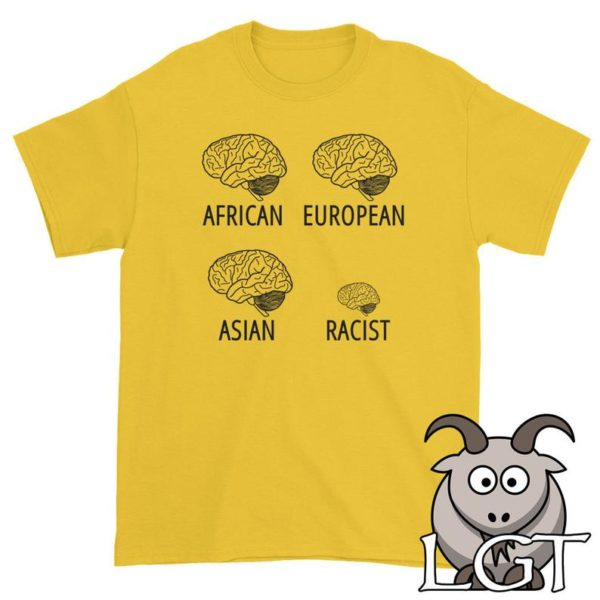 Racist Shirt Small Brain Shirt  Anti Racism Shirt Civil image 0
