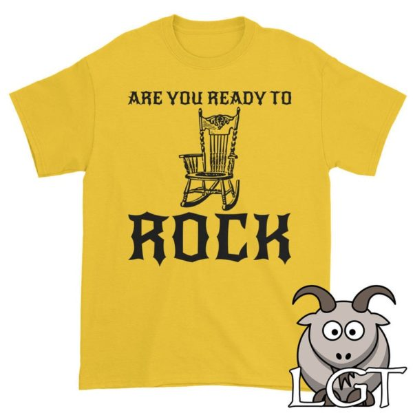 Are You Ready to Rock Shirt Rock and Roll Shirt Music Shirt image 0