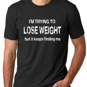 Think Out Loud Apparel I'm Trying to Lose Weigh But it image 0