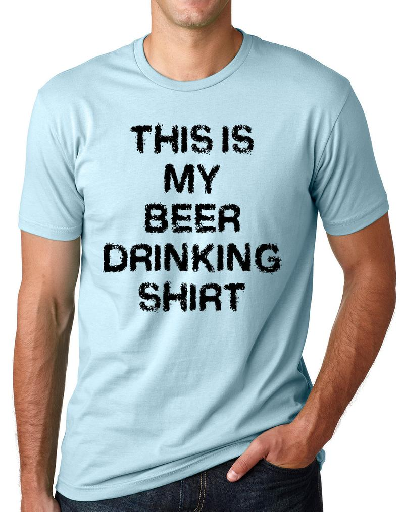 This Is my Beer Drinking Shirt Funny T shirt Bar Shirt gift image 0