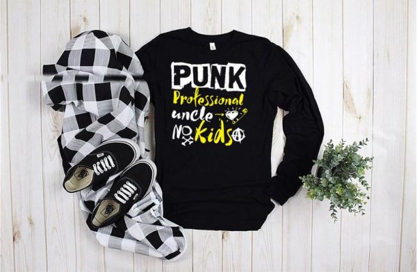 PUNK Professional Uncle Shirt / Best Uncle Ever / New Uncle To image 0