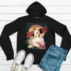 Virgin Mia Wallace Pulp Fiction Mashup Unisex Hoodie / image 0