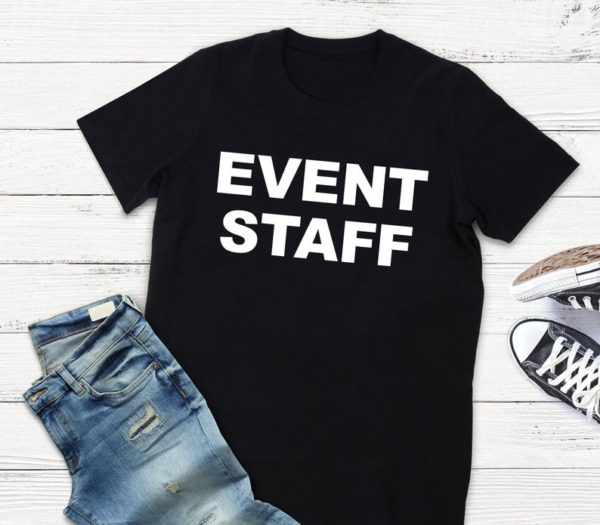 Event Staff Shirt / Staff Appreciation  Party Event Planner / image 0