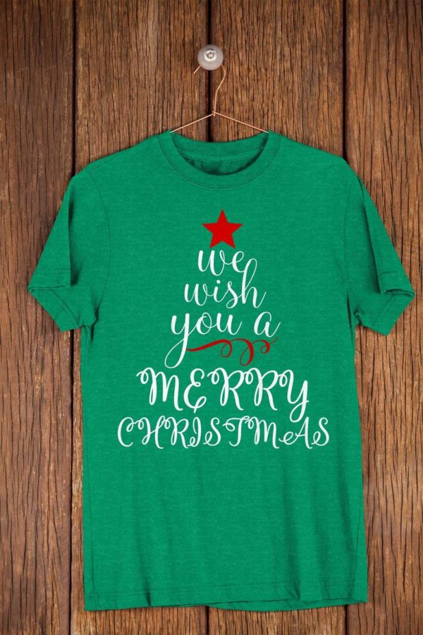 We Wish You A Merry Christmas Trendy Womens Holiday Cheer image 0