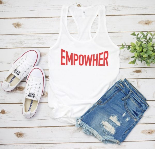 Empowher Women's The Future Is Female Girl Power Tank / image 0