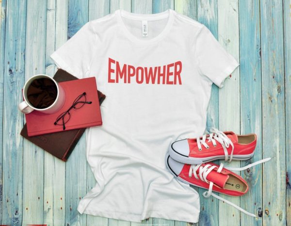 Empowher Womens The Future Is Female Girl Power Shirt / image 0