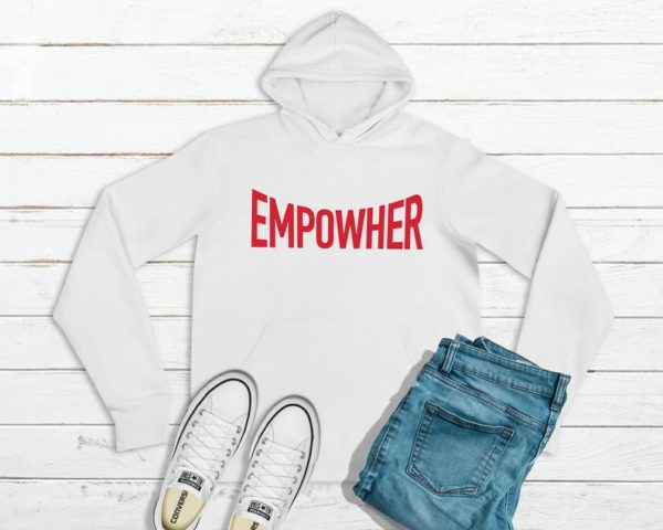 Empowher The Future Is Female Girl Power Hoodie / Feminist image 0