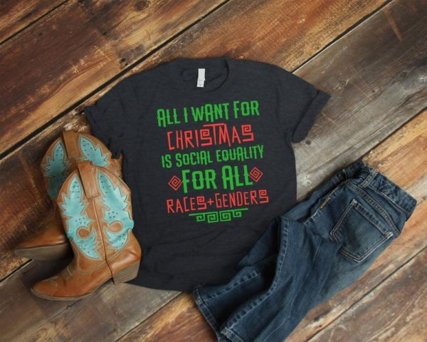 All I Want For Christmas Is Social Equality Feminist image 0