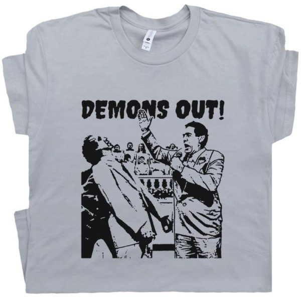 Demons Out T Shirt Weird T Shirt Occult Shirts Funny The image 0