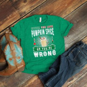 Pumpkin Spice Lover Shirt Ladies Fall Gifts Pumpkin Season image 0