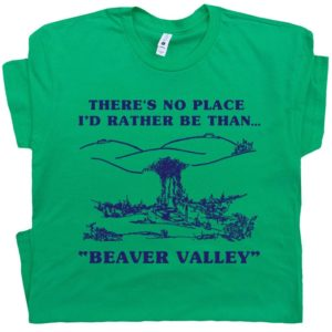 Beaver Valley Funny T Shirt Offensive T Shirts Cool T Shirt image 0