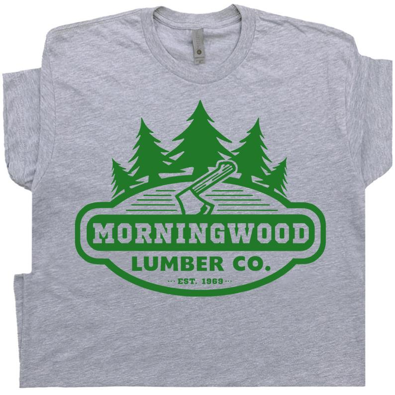 Morningwood T Shirt Lumber Company Offensive T Shirt For Men image 0