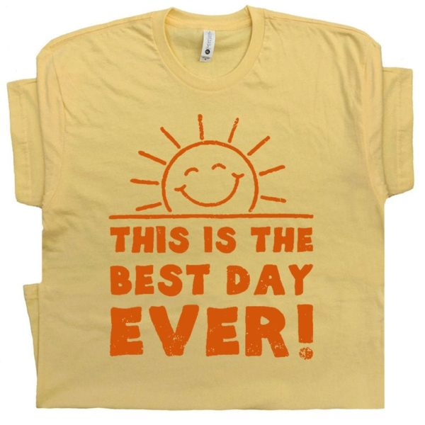 Best Day Ever T Shirt Cool Vintage Graphic Funny Birthday image 0