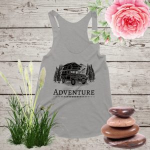 Adventure Tank Tops ©  nature shirt adventure shirt hiking image 0