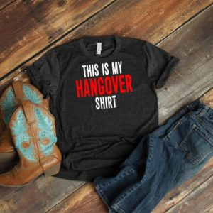 This Is My Hangover Shirt Cute 21st Birthday Gift Bachelor image 0