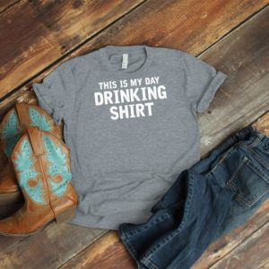 This Is My Drinking Shirt Shirt Vintage Tshirt Funny Wine image 0