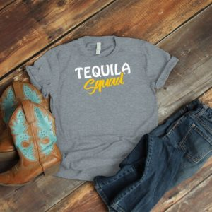 Tequila Squad Shirt Vintage Best Friend Bridal Hen Party image 0
