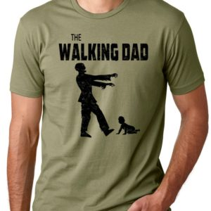 The Walking Dad Funny shirt Father T Shirt Gifts for dads image 0