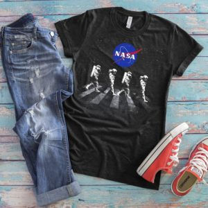 NASA Spacewalk Astronauts NASA Shirt Cool Spacemen Tshirt image 0