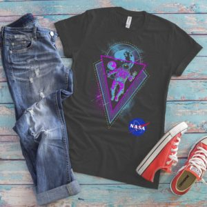 Astronaut Rave Top Psychedelic T-Shirt PSY Trance Party image 0