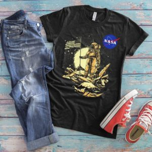 Astronaut Dibs On Mars Shirt Spaceman Mission Tee Mars image 0