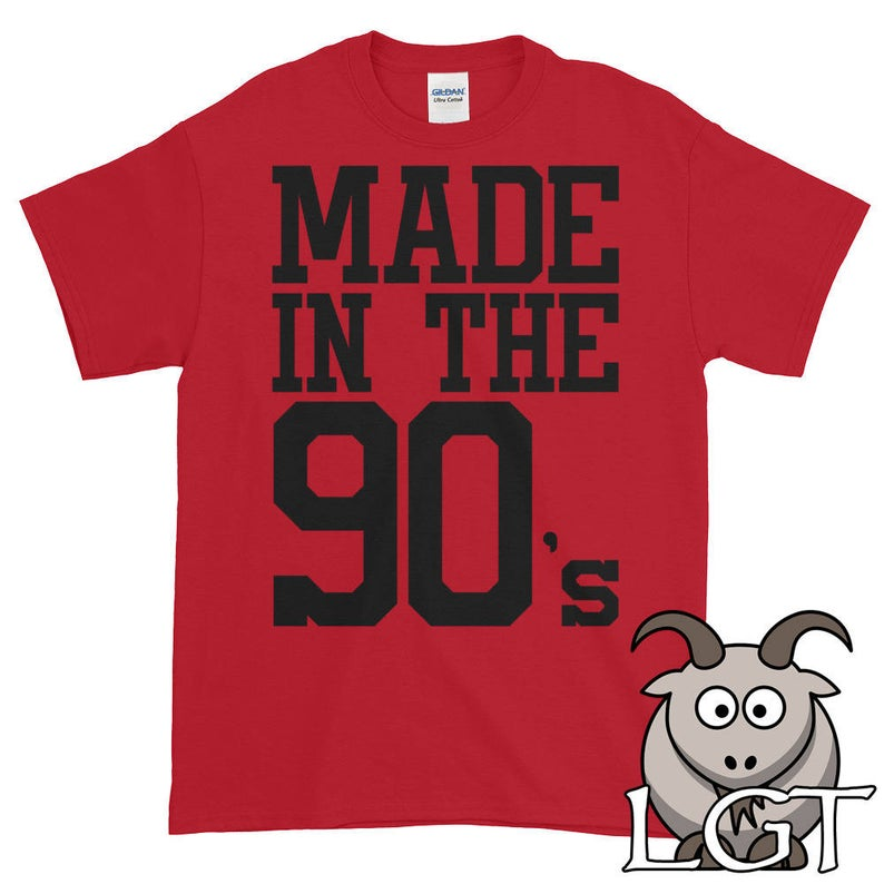 Made in the 90's Shirt Made in the Nineties Shirt image 0
