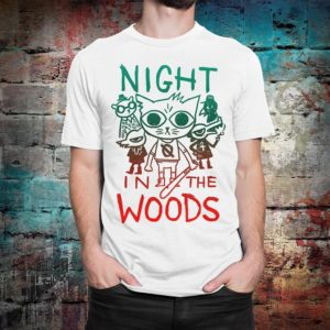 Night in the Woods Graphic T-Shirt Men's Women's White