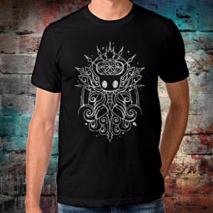 Hollow Knight T-Shirt Men's Women's Cotton Tee Black