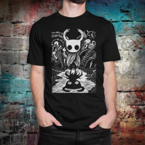 Hollow Knight Graphic T-Shirt Men's Women's Tee All image 0