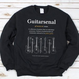 Funny Guitarsenal Definition  Guitarist's Gift / Electric image 0