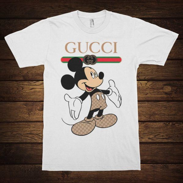 Mickey Mouse Fashion Funny T-Shirt Men's Women's All image 0