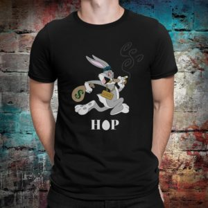 Bugs Bunny Gangster Hip-Hop T-Shirt Looney Tunes Cartoon Tee image 0
