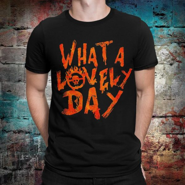 Mad Max Fury Road What a Lovely Day T-Shirt Men's image 0