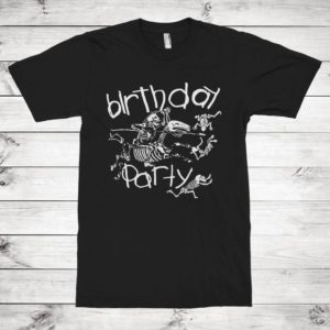 The Birthday Party Rock Band T-Shirt Men's Women's image 0