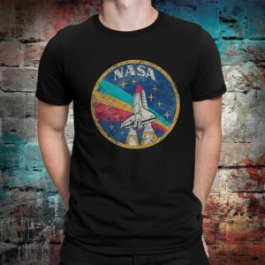 NASA Space Shuttle Vintage T-Shirt Men's Women's image 0