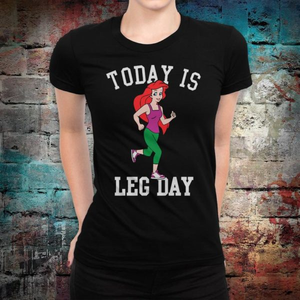 The Little Mermaid Ariel Funny T-Shirt Today Is Keg Day Tee image 0