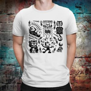 Felix the Cat Graphic T-Shirt Premium Cotton Tee Men's White
