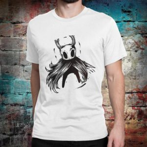 Hollow Knight T-Shirt Men's Women's Sizes White