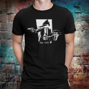 Regular Show x Pulp Fiction Funny T-Shirt Men's image 0