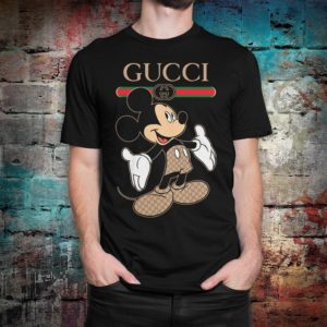 Mickey Mouse Fashion Funny T-Shirt Men's Women's image 0