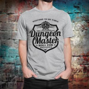 Dungeon Master Dungeons & Dragons T-Shirt Men's Gray