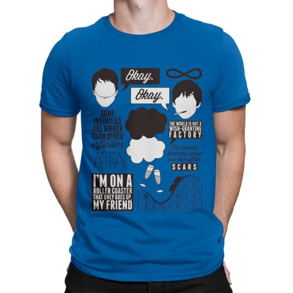 The Fault in Our Stars Graphic T-Shirt Men's Women's image 0