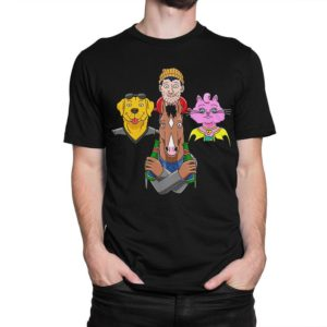 BoJack Horseman And Friends T-Shirt Men's Women's image 0